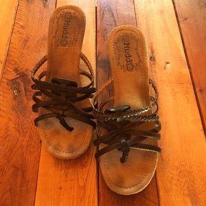 BOGO Mudd Sandal Heels